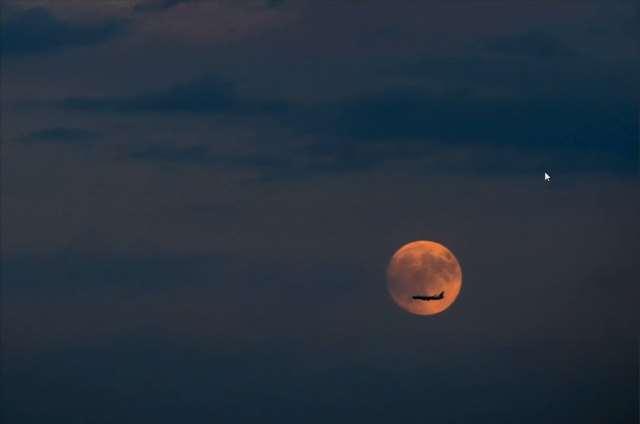 如何拍摄中秋月
