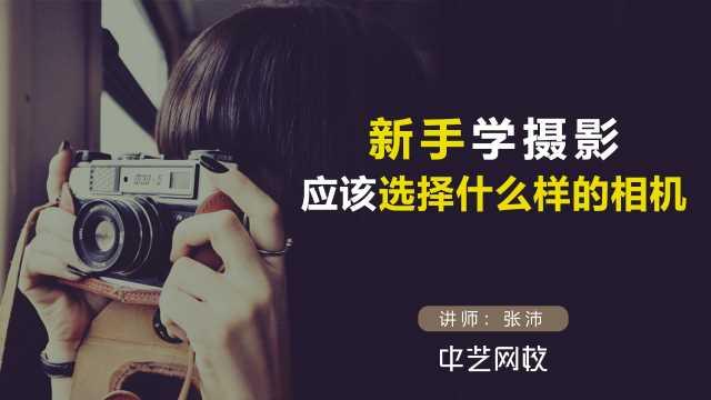新手学摄影,应该选择什么样的相机